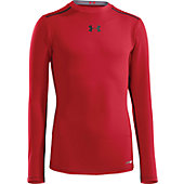 UA HEATGEAR SONIC FITTED LS YTH 13U