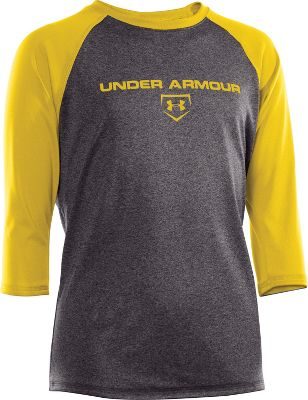 Under Armour Youth Cage To Game 3/4 Sleeve Shirt