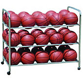 Diamond Double Wide Steel Ball Cart