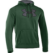 Under Armour Men's Armour Fleece Storm Printed Big Logo Hoodie