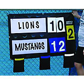 Diamond Portable Fence Mounted Scoreboard