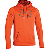Under Armour Mens Fleece Storm Outline Big Logo Hoodie
