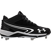Under Armour Men's Ignite Mid Metal Baseball Cleats