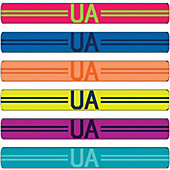 Under Armour Graphic Mini Wrist Hairbands (6 Pack)