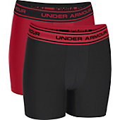 Under Armour Boys' Original Series Boxer Briefs (2 Pack)