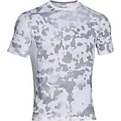 Under Armour Men's HeatGear Sonic Fitted Printed Short Sleev