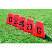 Diamond Stackable 5 Piece Sideline Markers Set