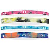 Under Armour Women's UA Graphic Elastic Headband (4 Pack)