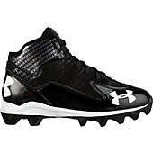 Under Armour Adult Hammer Mid Molded Football Cleats (4E Wid