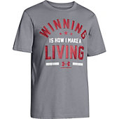 Under Armour Boys' Winning For A Living T-Shirt