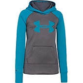 Under Armour Girl's Storm Big Logo Armour Fleece Hoody