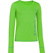 Under Armour Youth Girls Frosty Long Sleeve T-Shirt
