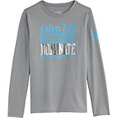 Under Armour Girls' Dominate Long Sleeve Shirt