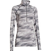 Under Armour Women's ColdGear Cozy Printed 1/2 Zip Pullover