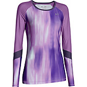Under Armour Women's HeatGear Alpha Novelty Long Sleeve Shir