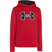 Under Armour Boy's Storm Big Logo Armour Fleece Hoody