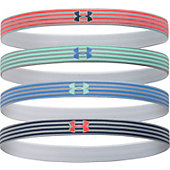 Under Armour Women's Reflective Mini Headbands  (4 Pack)