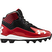 Under Armour Boy's Hammer Mid Molded Football Cleats