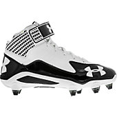 Under Armour Fierce Mid D Molded Football Cleats