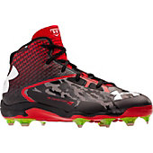 Under Armour Men's Deception Mid Molded Metal Baseball Cleats