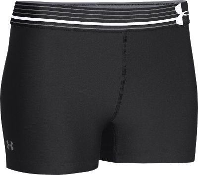 Under Armour Women's HeatGear Alpha Shorty 1251862BLKXL