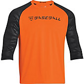 Under Armour Men's 9 Strong 3/4-Sleeve Baseball Shirt