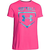 Under Armour Girl's Softball Sport T-Shirt