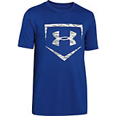 Under Armour Boys' Big logo Baseball T-Shirt