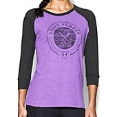 UA W Softball Graphic LS