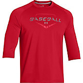 Under Armour Men's Undeniable 3/4-Sleeve Baseball Shirt