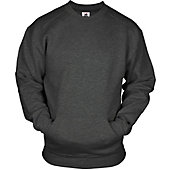 Badger Men's Crew Neck Pullover with Pouch Pocket