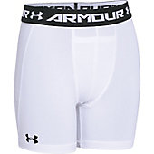 "Under Armour Youth HeatGear Armour 4"" Compression Short"