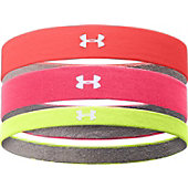 Under Armour Women's ArmourGrip Multipack Headbands (3 Pack)