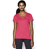 Under Armour Women's Solid Tech V-Neck Shirt