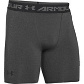 UA ARMOUR HG COMP SHORT 6IN