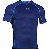 Under Armour Men's HeatGear Armour Printed Short Sleeve Comp