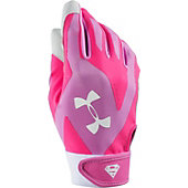 Under Armour Women's Super Girl Motive Batting Glove