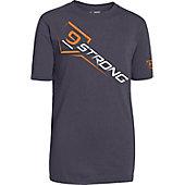 Under Armour Boys' 9 Strong Baseball Shirt