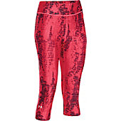 Underarmour Women's HeatGear Alpha Compression Stripe Capri