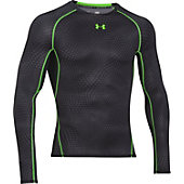 Under Armour Men's HeatGear Armour Printed Long Sleeve Compr