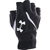 Under Armour Adult Combat IV 1/2 Finger Football Gloves