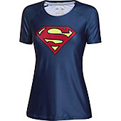 Under Armour Women's Alter Ego HeatGear Sonic Supergirl Shir