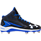 Under Armour Men's Yard Mid ST Metal Baseball Cleats