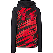 Under Armour Boy's Storm Fleece Printed Big Logo Hoodie