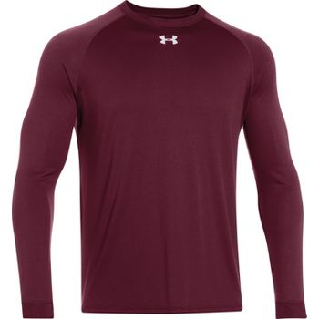 Under armour men 39 s locker t long sleeve shirt baseball for Men s ua locker long sleeve t shirt