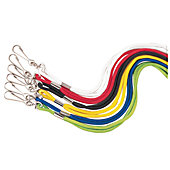 Champion Sports Heavy Nylon Lanyards (1-Dozen)