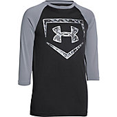 Under Armour Youth 9 Strong 3/4 Sleeve Baseball Shirt