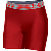 UA Womens HeatGear Armour Mid Short