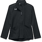 Under Armour Girl's Pregame Woven Full Zip Jacket