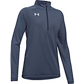 Under Armour Girls' Tech Microstripe 1/4 Zip Pullover
